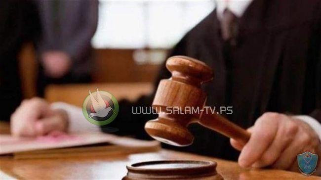 محكمة بداية نابلس تدين تاجر مخدرات وتحكم عليه بالسجن 15 سنة