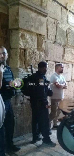 اعتقال أحد حراس المسجد الأقصى