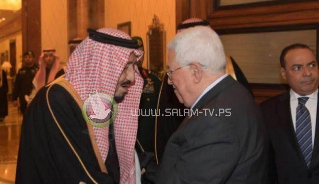 العاهل السعودي يؤكد على حق الشعب الفلسطيني بإقامته دولته المستقلة